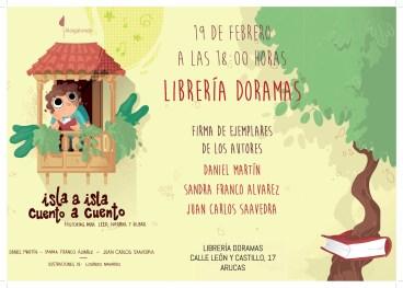 Cartel-librería-DORAMAS