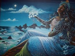diosa de las aguas