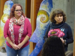 Nos acompañó la concejala de Cultura Ayto de Guía, MaryCarmen Mendoza