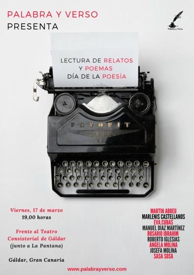 Cartel Día Poesía