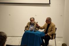 El también poeta cubano, Juan Francisco González-Díaz, fue el encargado de presentar a Díaz Martínez