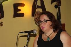 Josefa Molina en la presentación. jpg