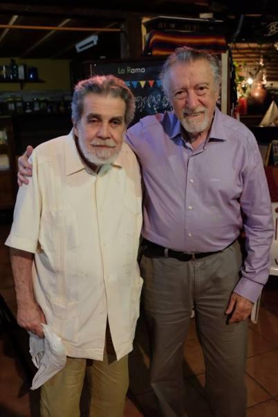Manuel Díaz y Francisco Lezcano