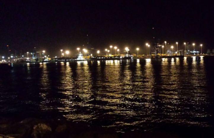 puerto las palmas noche
