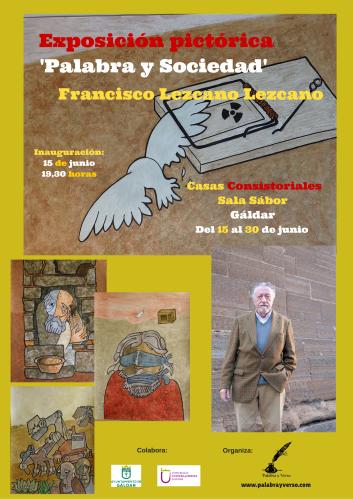 Exposición pictórica 'Palabra y Sociedad' (8)