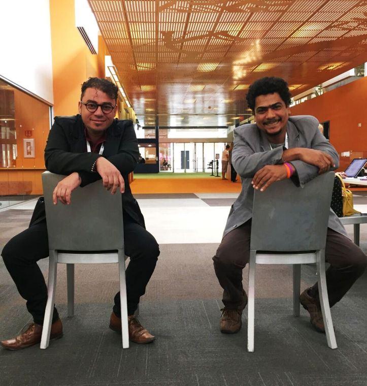 Leonardo Nin y Samir Delgado