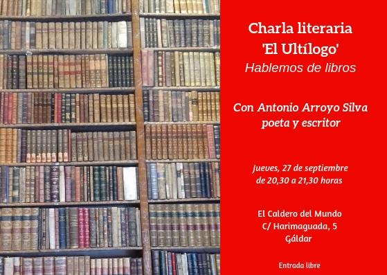 'Ultílogo', charla literaria (1)
