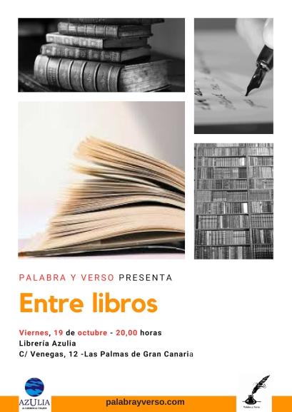 Cartel Entre Libros