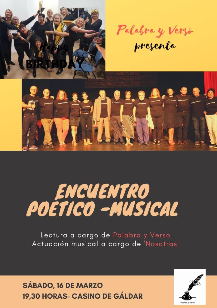 ENCUENTRO POÉTICO-MUSICAL