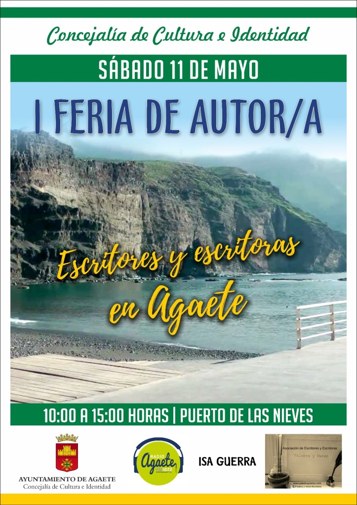 Cartel Feria Autor Agaete
