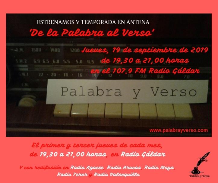 'De la Palabra al Verso' (2)