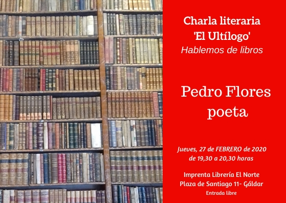 Cartel Ultílogo Pedro Flores