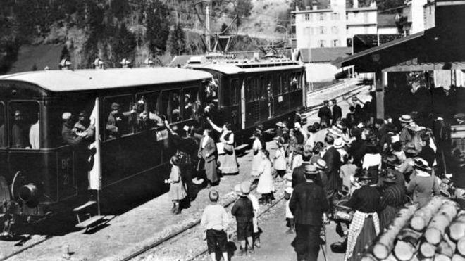 44_Llegada_tren_1º_Guerra